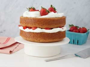 Cool and Easy Summer Baby Shower Menu - Strawberry Country Cake