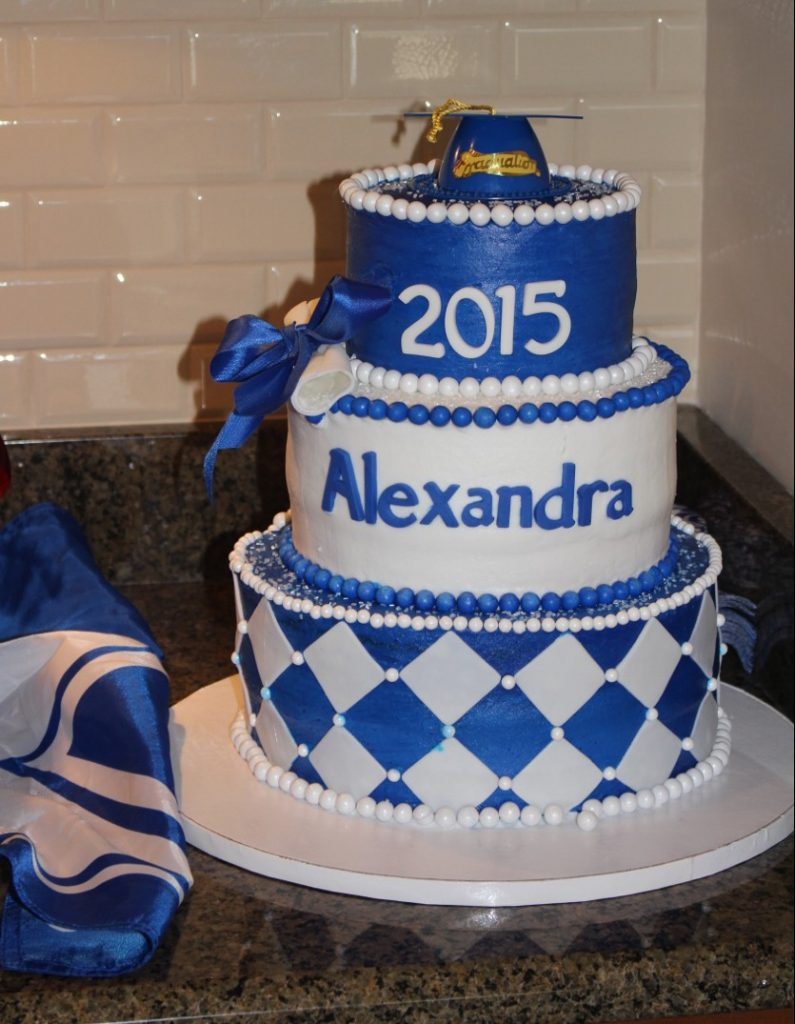 Easy Graduation Party: Themed Cake