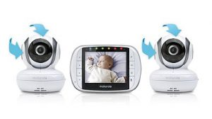 Must-Have Items for a 2nd or 3rd Baby Registry: Double Video Monitor