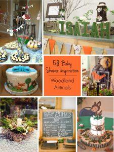 Fall Baby Showers: Woodland Friends Baby Shower Theme | RegistryFinder.com