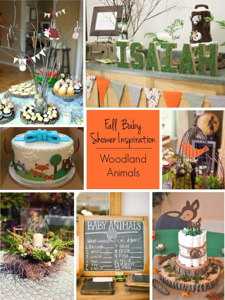 Fall Baby Showers: Woodland Friends Baby Shower Theme | RegistryFinder.com