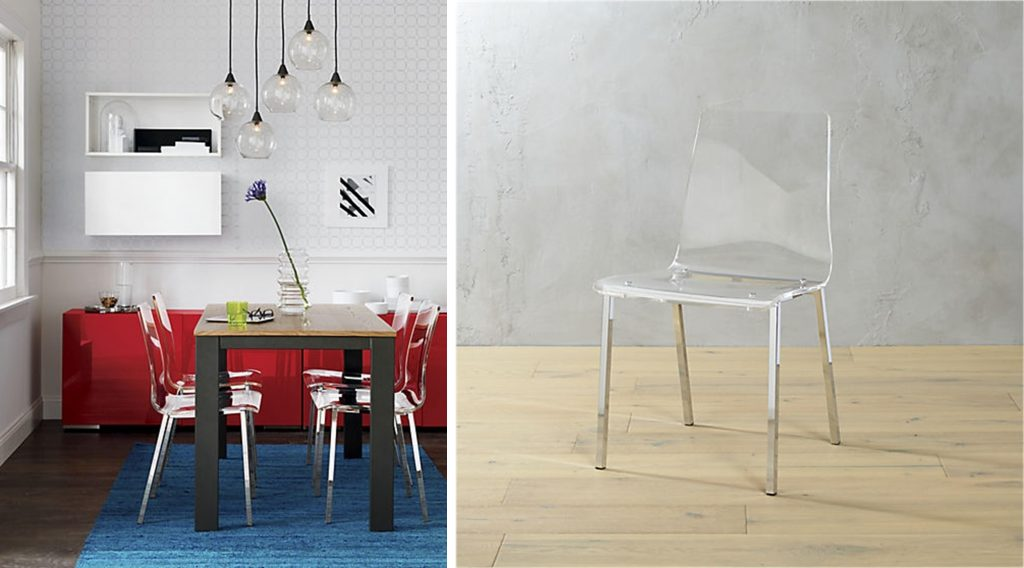 Gifts We Love for Urban Dwellers: Vapor Acrylic Chair