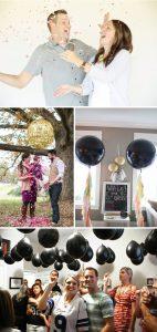 Confetti Gender Reveal Ideas