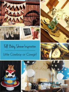 Fall Baby Showers: Cowboy or Cowgirl Baby Shower Theme | RegistryFinder.com