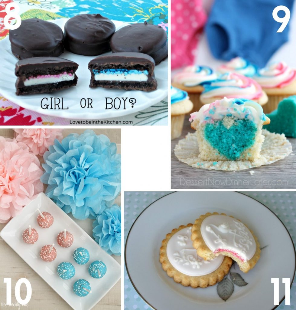 The Best Dessert Ideas for a Gender Reveal