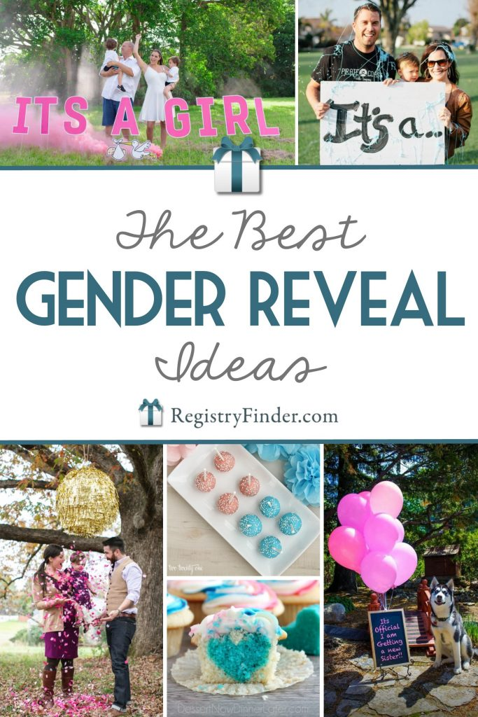 16 Awesome Gender Reveal Ideas Registryfindercom