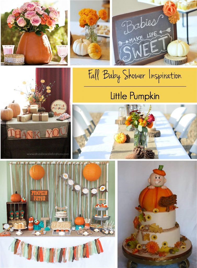 Fall Baby Showers: Little Pumpkin Baby Shower Theme | RegistryFinder.com