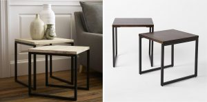 Gifts We Love for Urban Dwellers: Box Frame Nesting Tables