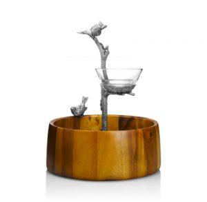 Michael C. Fina -Song Bird Chip & Dip Set - Wedding Gift