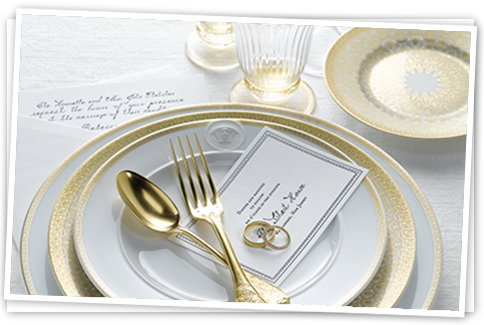Build Your Life Together in Style - Create the Perfect Wedding Gift Registry at Michael C. Fina
