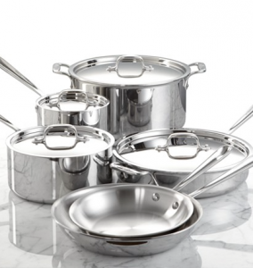 Weddings with Clinton Kelly – Top Registry Items Macy's – All-Clad Stainless Steel Cookware