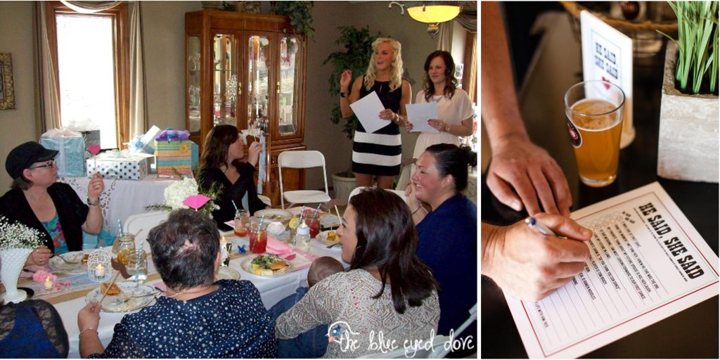 Fun Bridal Shower Activities- Who Said It? Game | RegistryFinder.com