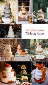 Gorgeous Fall Wedding Inspiration: Wedding Cakes | RegistryFinder.com