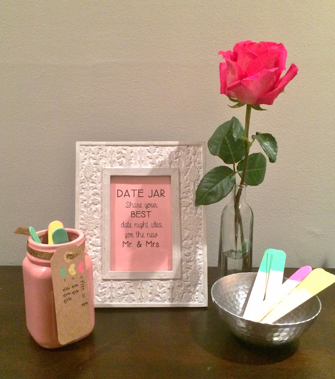 Fun Bridal Shower Activities- Date Night Jar | RegistryFinder.com