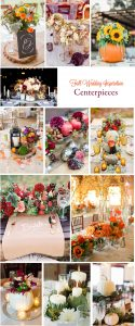 Gorgeous Fall Wedding Inspiration: Tablescapes and Centerpieces | RegistryFinder.com
