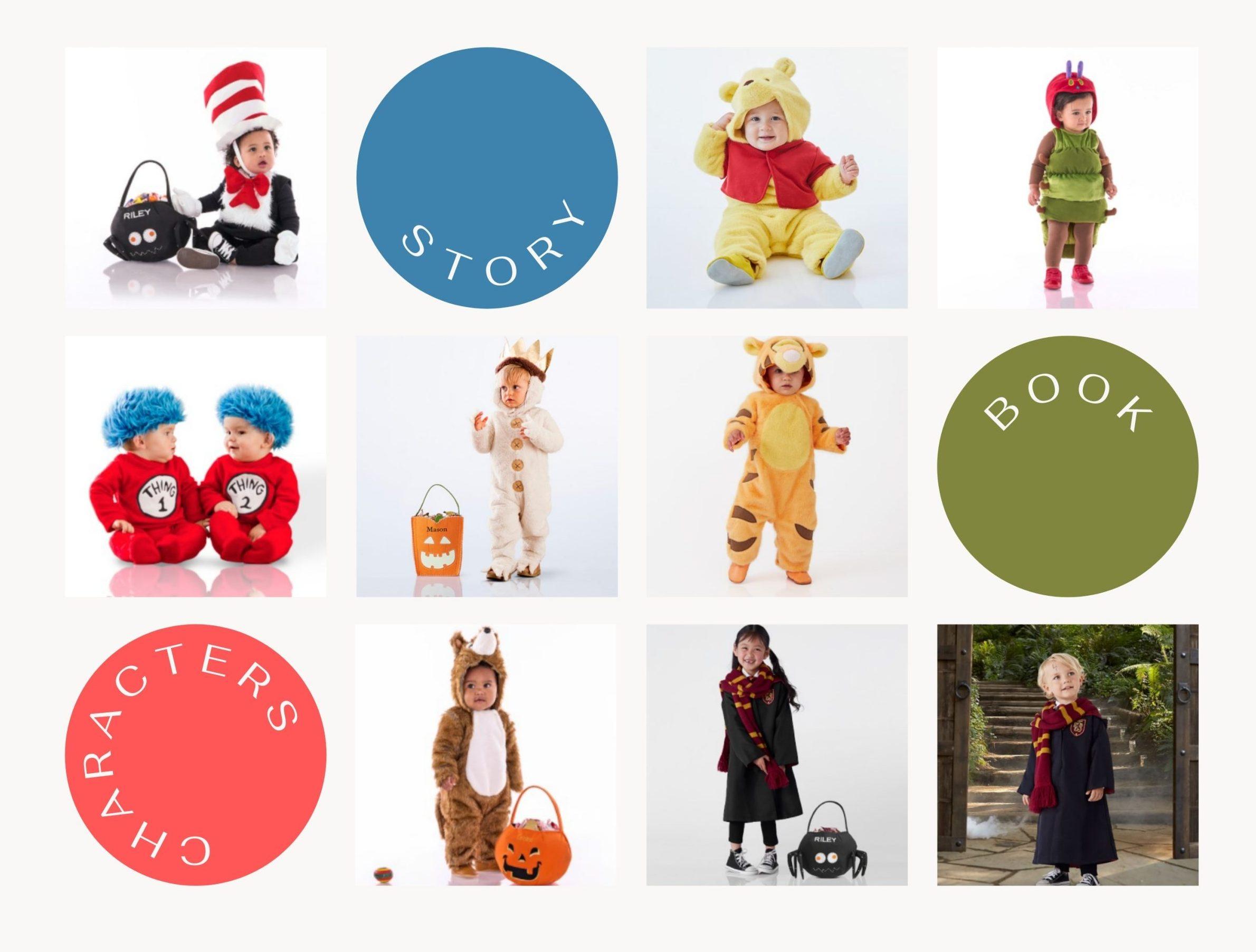 Favorite Book Characters baby Halloween costumes