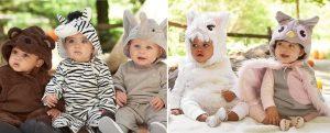Alt Text: Adorable Baby Halloween Costumes: Pottery Barn Kids Animal Costumes | RegistryFinder.com