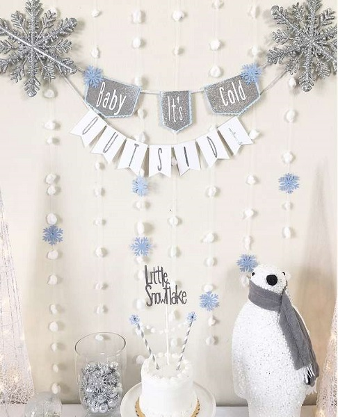Baby, It's Cold Outside Baby Shower Theme