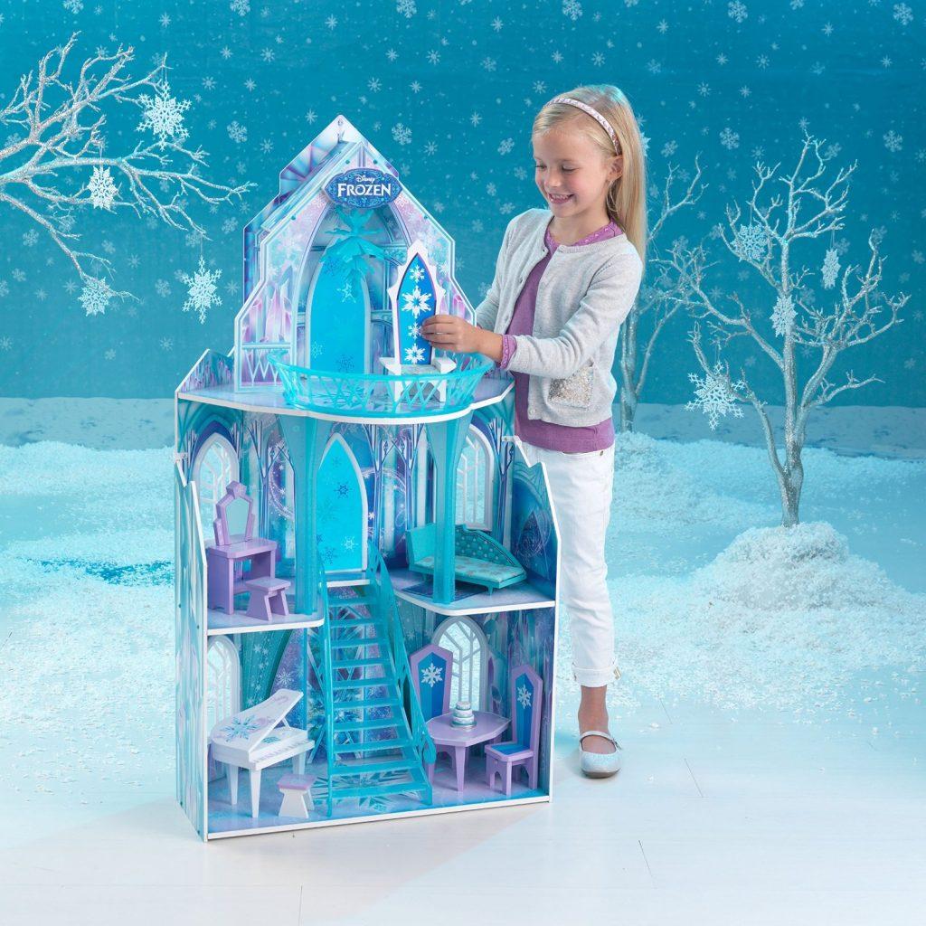 The Best of Amazon Mom Picks for Holiday Gifts: KidKraft Disney Frozen Ice Castle Dollhouse | RegistryFinder.com