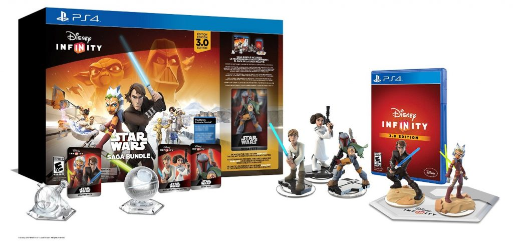 The Best of Amazon Mom Picks for Holiday Gifts: Disney Infinity 3.0 Edition: Star Wars Saga Bundle | RegistryFinder.com