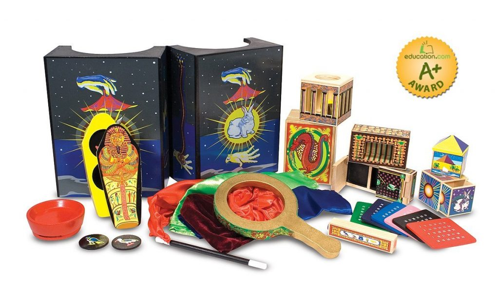 The Best of Amazon Mom Picks for Holiday Gifts: Melissa and Doug Deluxe Magic Kit | RegistryFinder.com