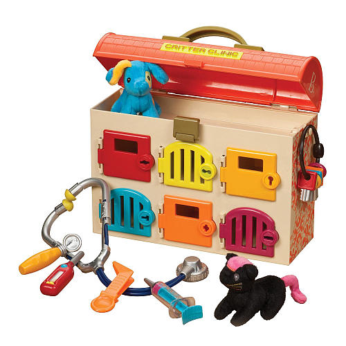 The Best of Amazon Mom Picks for Holiday Gifts: B. Critter Clinic Toy Vet Play Set | RegistryFinder.com