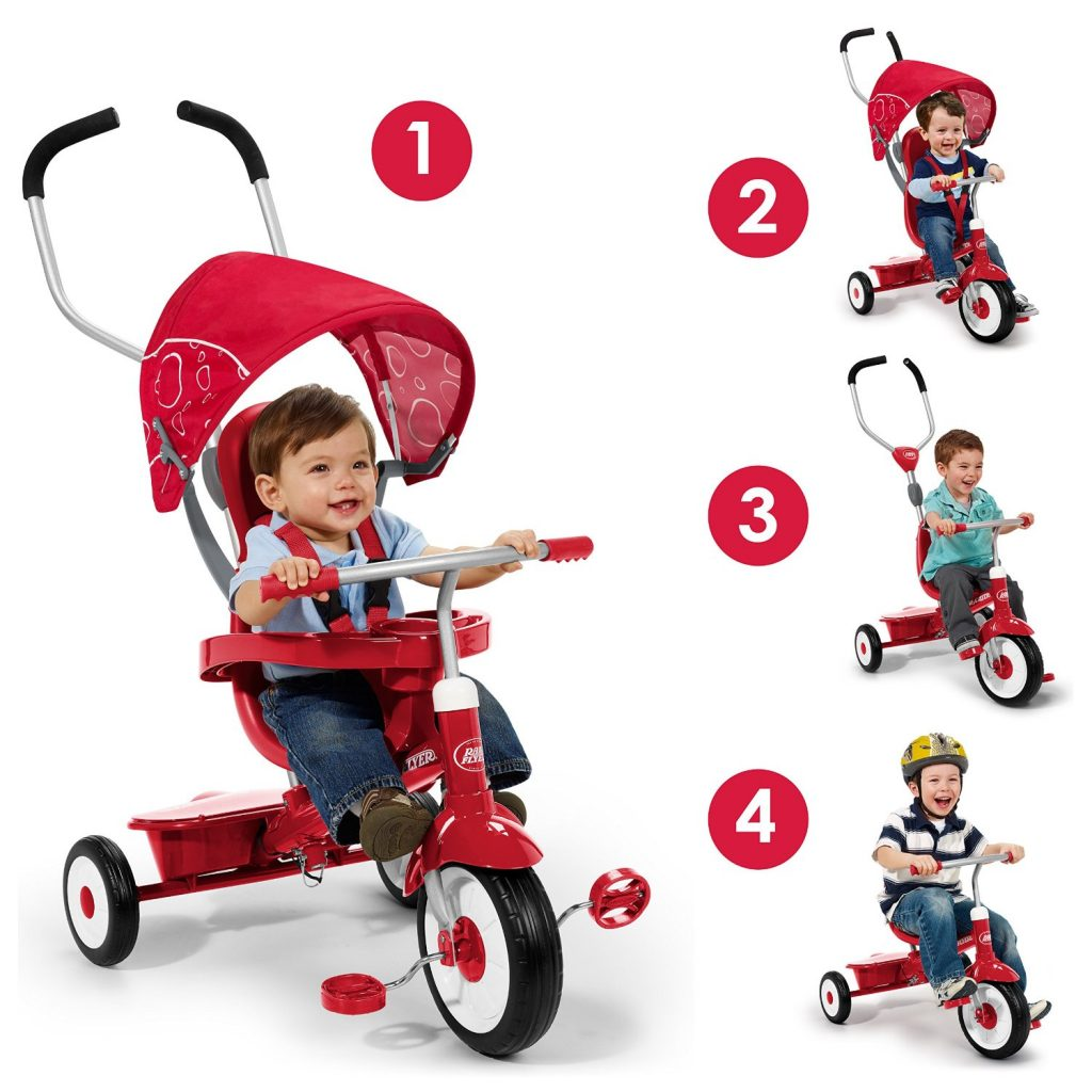 The Best of Amazon Mom Picks for Holiday Gifts: Radio Flyer 4-in-1 Trike | RegistryFinder.com