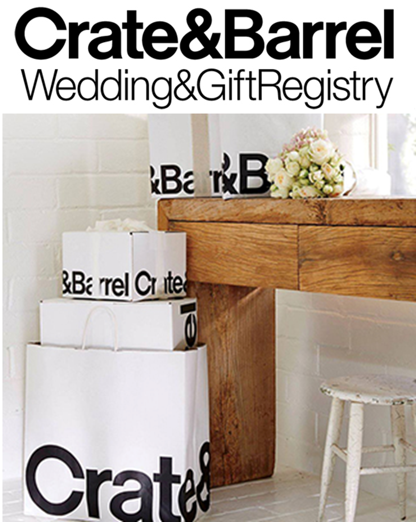 Crate&Barrel - Best Places to Create Your Wedding Gift Registry, Part 1 - RegistryFinder.com