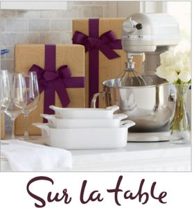 Best Places to Create Your Wedding Gift Registry - Sur La Table