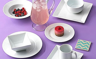 What You Really Need- Best Gifts To Include in Your Wedding Registry that You Might Forget: White Everyday Dishes | RegistryFinder.com