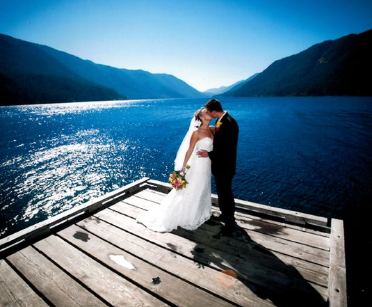 AskCheryl: Destination Weddings - Guest Room Etiquette - Photo of Lake Crescent