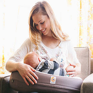 The Ergobaby Natural Curve Nursing Pillow | Best New Baby Products for 2016 from RegistryFinder.com