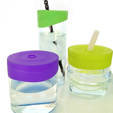 Silikids Slilskin Reusable Silicone Straw Tops | Best New Baby Products for 2016 from RegistryFinder.com