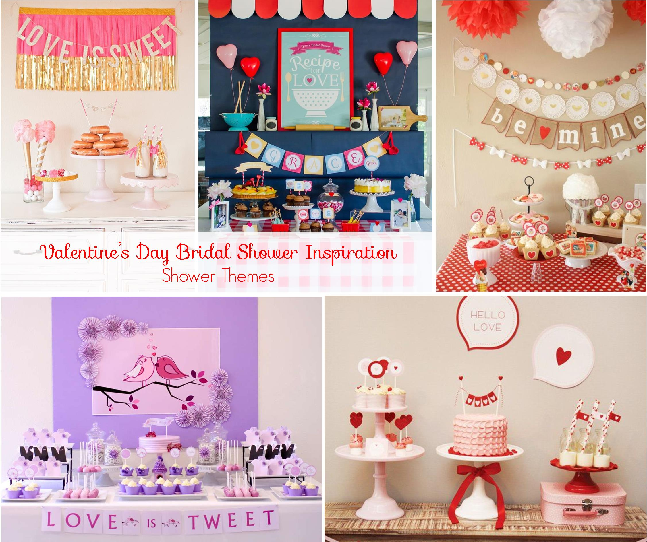 Valentine's Day Bridal Shower Inspiration: Shower Themes | RegistryFinder.com