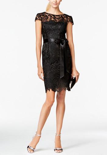 Cap-Sleeve Bridesmaid Dress