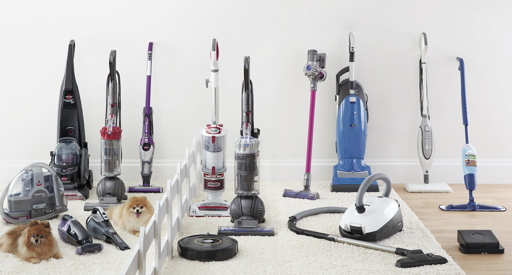 Add a quality Vacuum Cleaner from Bed Bath & Beyond