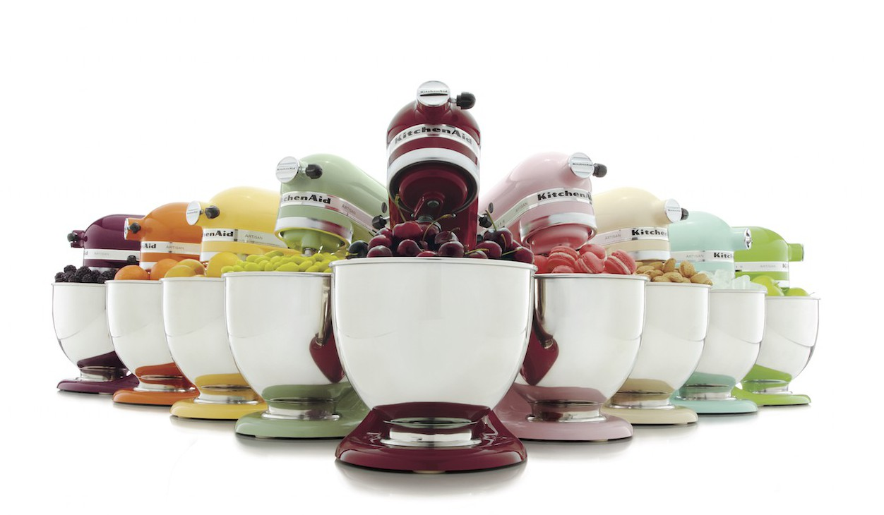 Add a KitchenAid Stand Mixer to your Wedding Registry from Bed Bath & Beyond