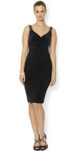 Lauren Ralph Lauren Beaded Sleeveless Sheath Dress