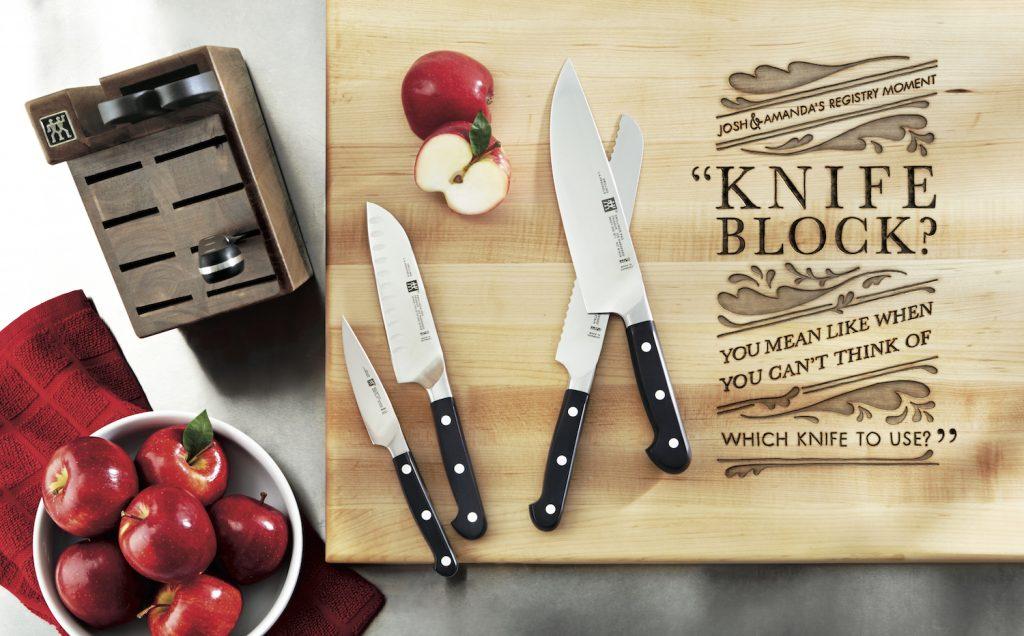register for quality knives