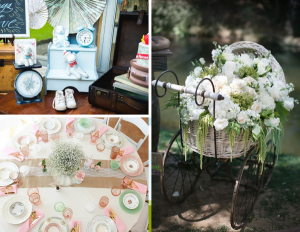 Spring Baby Showers | Vintage Baby Shower