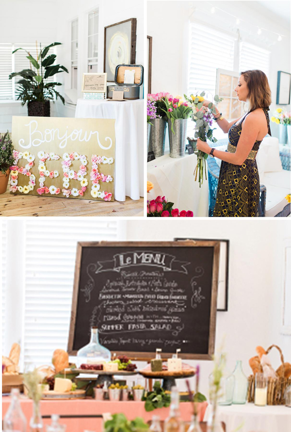 Fresh Ideas for a Springtime Baby Shower | Spring Baby Shower Themes and Inspiration from RegistryFinder.com | The French Market Baby Shower