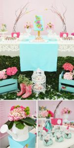 Fresh Ideas for a Springtime Baby Shower | Spring Baby Shower Themes and Inspiration from RegistryFinder.com | The Enchanted Garden Baby Shower