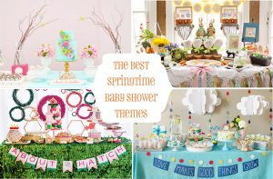Fresh Ideas for a Springtime Baby Shower | Spring Baby Shower Themes and Inspiration from RegistryFinder.com