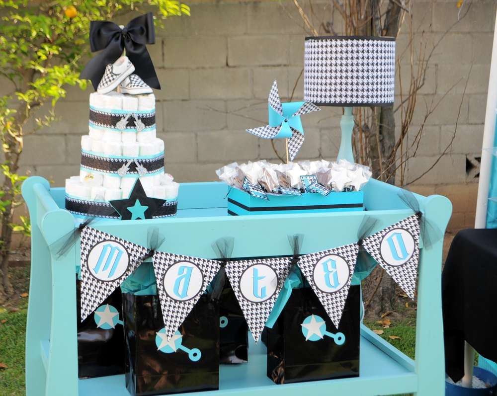 Rock-a-Bye Baby Shower Table