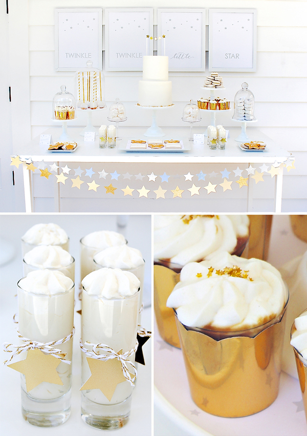 Fresh Ideas for a Springtime Baby Shower | Spring Baby Shower Themes and Inspiration from RegistryFinder.com | The Twinkle Twinkle Baby Shower