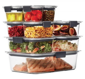 Perfect Items For Your Healthy Wedding Gift Registry | 22-Piece Food Storage Container Set