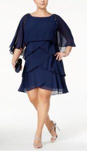 Plus Size Lace Column Gown | Mother of the Bride Dress