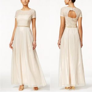 Popover Gown | Mother of the Bride Dress