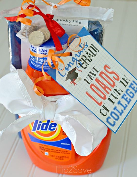 "Thoughtful Gifts for the Grad | Laundry ""Survival Kit"""