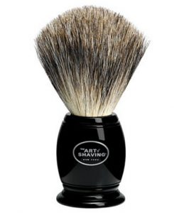 The Art of Shaving Black Pure Badger Brush